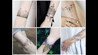50 Awesome Bracelet Tattoo Design Ideas For Womens