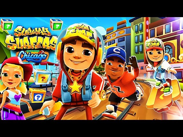 Subway Surfers World Tour 2018 : Chicago | Gameplay For Children