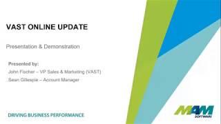 VAST Online Overview Webinar