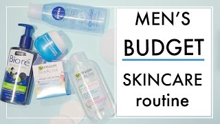 Cheap / Budget Daily Skincare Routine. Mens Grooming Tips   ✖ James Welsh
