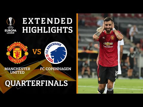 Manchester United vs. Copenhagen | Europa League Quarterfinals highlights | UCL on CBS Sports