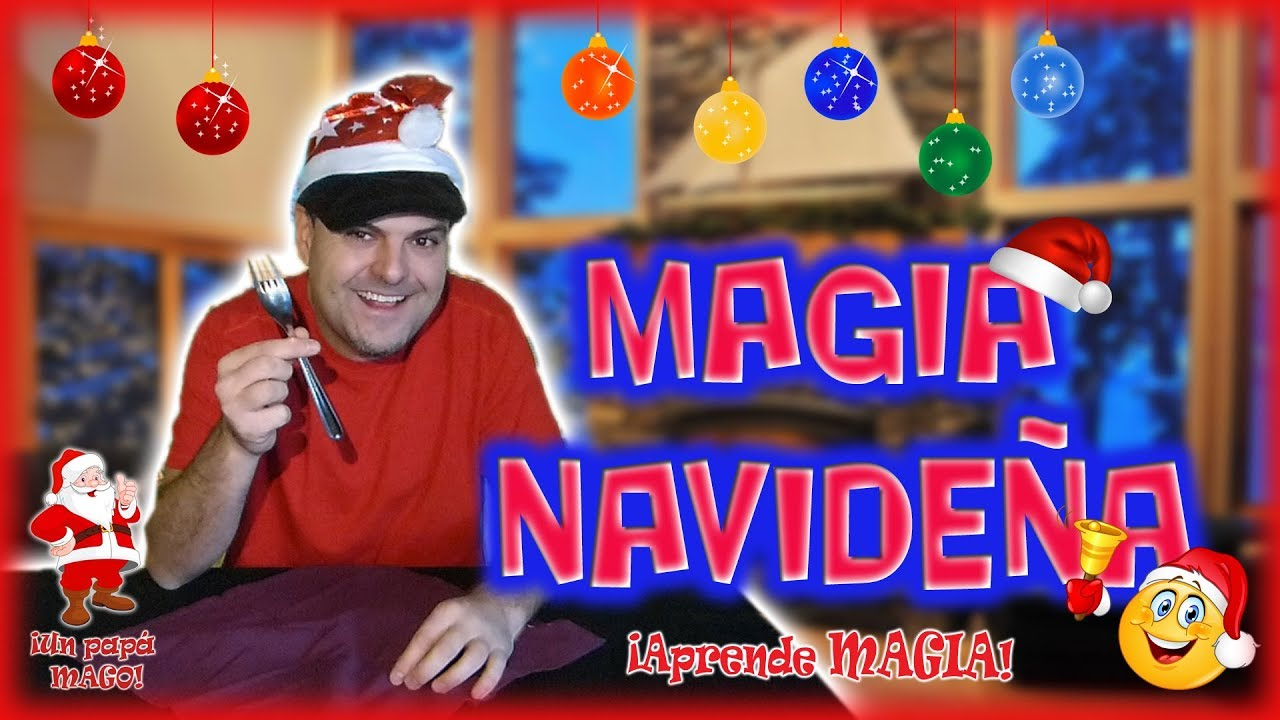 TRUCO DE MAGIA CON CUBIERTOS | MAGIA DE NAVIDAD | APRENDE MAGIA | Is Family Friendly