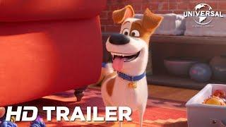 Liberado o trailer oficial de Pets - A Vida Secreta dos Bichos 2