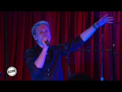 "Franz Ferdinand performing ""Always Ascending"" live on KCRW"