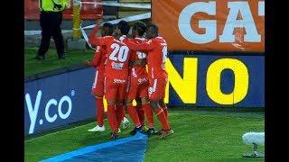 Millonarios vs. América (1-2)   Liga Aguila 2019-II   Fecha 17