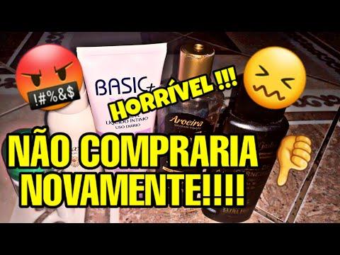 06 PRODUTOS REPROVADOS QUE NÃO COMPRARIA NOVAMENTE !!!
