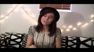 Christina Grimmie - Hold On We're Going Home (StageIt Christmas Concert - 12/21/14)