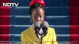 US Inauguration Day 2021 | Amanda Gorman, Youngest Inaugural Poet, Has A Moment In Biden Ceremony