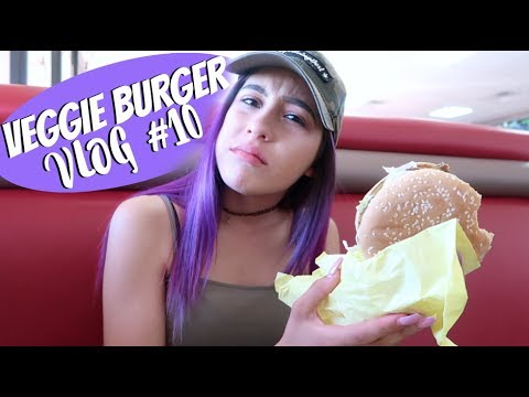 ★VEGGIE BURGER TASTE TEST VLOG #10★ // LIFEBEINGDEST VLOGS