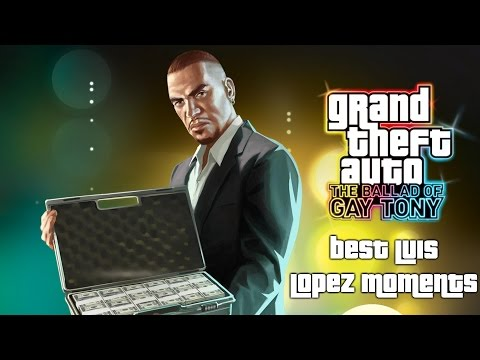 Grand Theft Auto TBOGT: Best Luis Lopez Moments