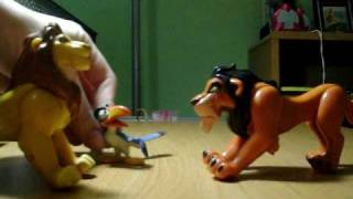LION KING scene 2- scar and the mouse