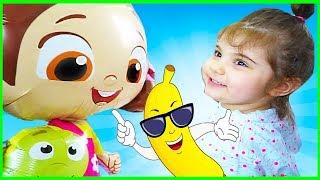 Niloya Uçan Balon Eylül Yemek Yediriyor - Evcilik Oyuncak - Kids Videos - Tontik Tv