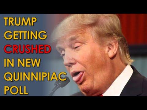 New Quinnipiac Poll has Joe Biden CRUSHING Donald Trump with 15-point lead (52-37%)