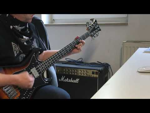 Manowar - Defender bass cover, Hagstrom H8