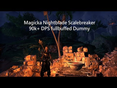 magicka nachtklinge dd build scalebreaker elder. Black Bedroom Furniture Sets. Home Design Ideas