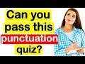 TEST YOUR PUNCTUATION📚 🤔  | Can you pass? | Ultimate punctuation quiz!