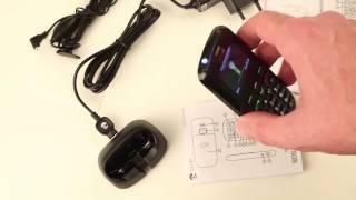 Günstiges gutes Seniorenhandy Telefon Doro Phone Easy 508 mit Notruf knopf.