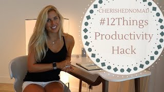 #12Things Productivity Hack - Video