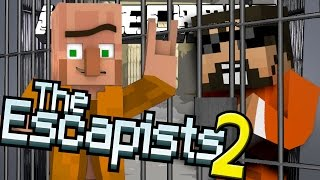 Minecraft: The Escapists 2 | BLACK MARKET TRADING!! [2]