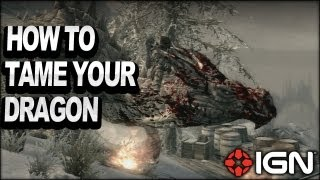 Skyrim Dragonborn DLC - How to Tame Your Dragon