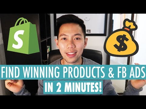 INSANE METHOD To Find ALL Winning Dropshipping Products & Facebook Ads in 2 MINUTES!