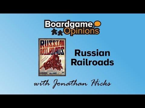 Boardgame Opinions: Russian Railroads