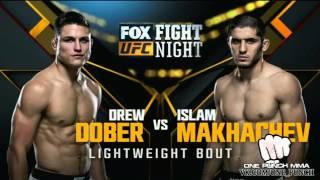 Взвешивание Ислама Махачева VS Дрю Добера на UFC on FOX 19: Teixeira vs. Evans