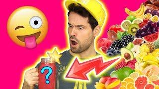 SMOOTHIE CHALLENGE EXTREME - JE MELANGE 25 FRUITS 🍏🍎🍊🍌🍉🍇🍓🍒🥝🍅🥑