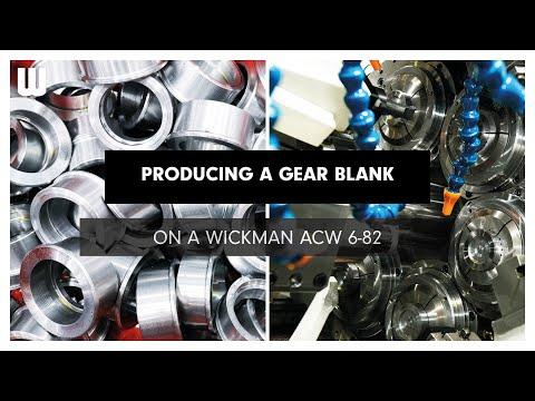 Gear blank - Wickman ACW 6-82