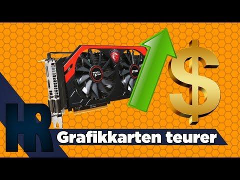 Grafikkarten werden teuer - an was liegt es diesmal? Mining uuuund....?