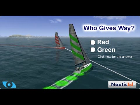 NauticEd FREE Navigation Rules Sailing Course
