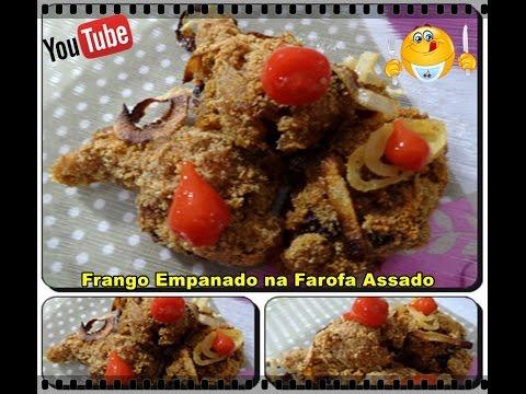 Frango empanado