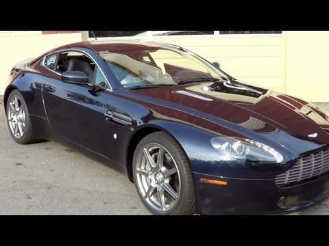 Aston Martin Vantage V-8 Coupe Quick Look
