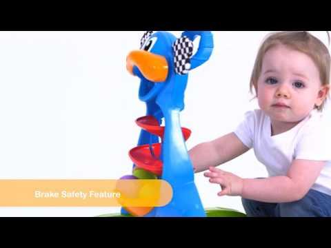 Rotaļlieta-staigulis Playgro Dragon Activity Walker, 0185503
