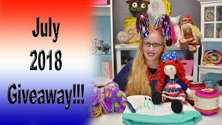 July 2018 Giveaway!!!