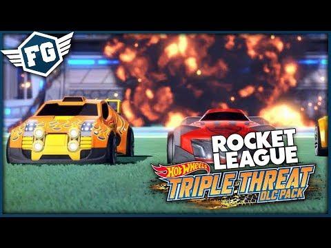 NOVÁ HOT WHEELS AUTÍČKA - Rocket League Triple Threat DLC