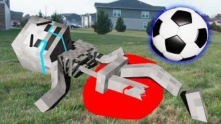 Monster School: Soccer Part 3   Spiderman   Brewing   LEGO Minecraft   (Monster School Compilation)