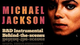 Michael Jackson - Bad Instrumental (BAD25 behind-the-scenes)