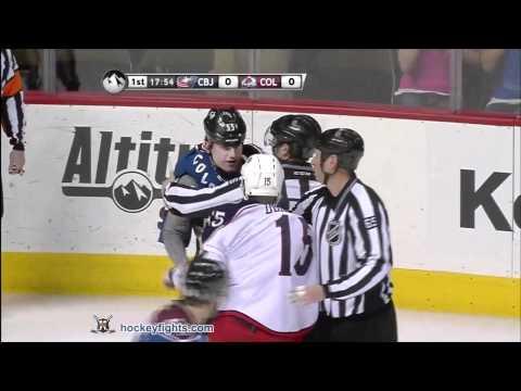 Cody McLeod vs. Derek Dorsett