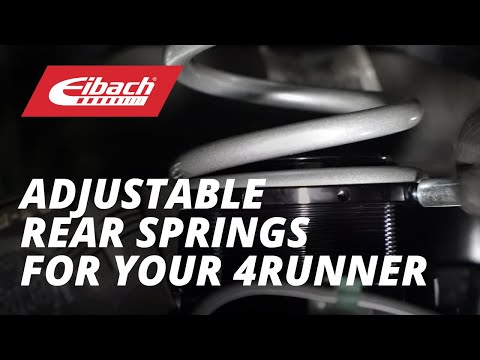 Installing the Eibach LOAD-LEVELING SYSTEM