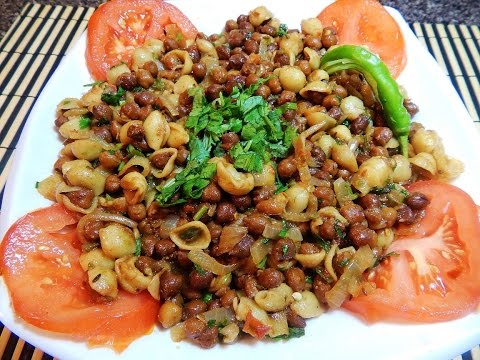 Pasta Chana Chaat/ Ramadan special recipe