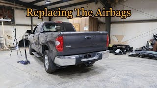 Rebuilding a Wrecked 2016 Toyota Tundra Part 2