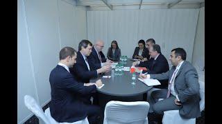 ՀՀ ԱԳ նախարար Զոհրաբ Մնացականյանի հանդիպումը ԱՄՆ պետքարտուղարի եվրոպական և եվրասիական հարցերով տեղակալ Ֆիլիպ Ռիքերի հետ
