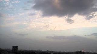 יירוט טיל בתל אביב על ידי כיפת ברזל