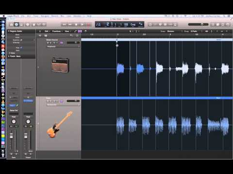 Logic Pro X – Video Tutorial 18 – Flex Time Part 1 – Polyphonic and Monophonic