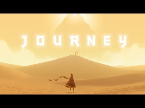 Záběry z PS4 verze Journey