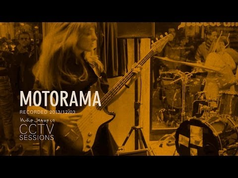 Motorama – live at CCTV Sessions by Nudie Jeans in Barcelona