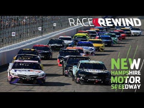 NASCAR ニューハンプシャー 決勝ハイライト