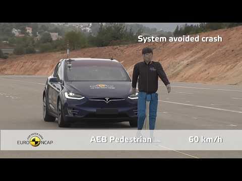 Euro NCAP Crash & Safety Tests of Tesla Model X 2019