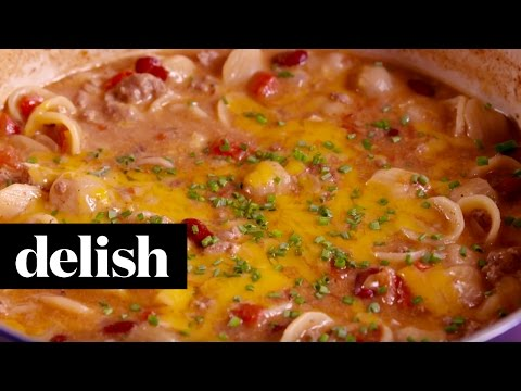 Chili Mac & Cheese | Delish